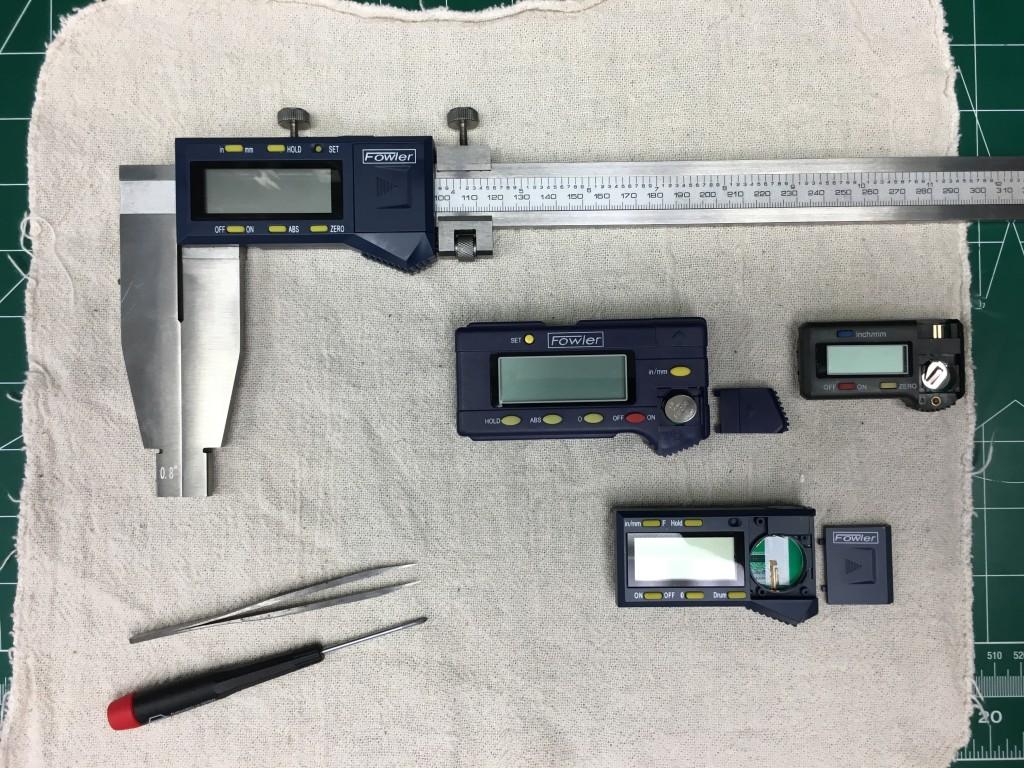 Fowler digital caliper 003